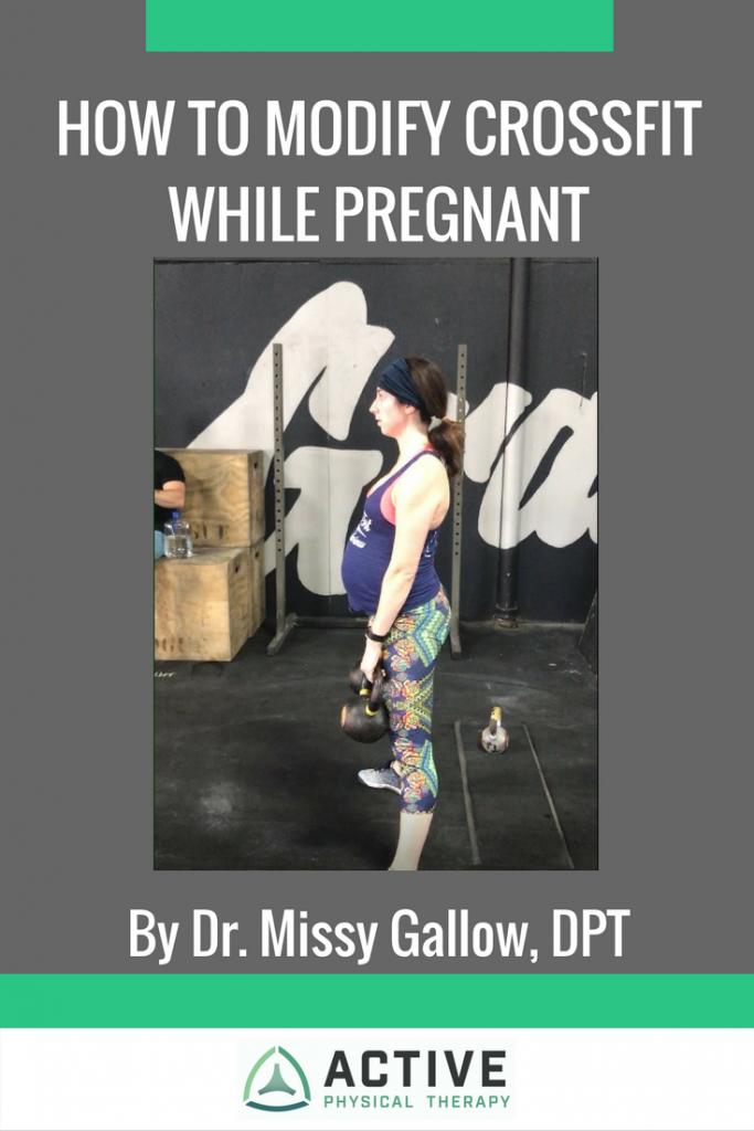 Modify CrossFit Workout While Pregnant