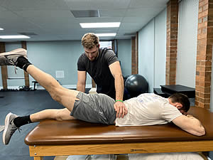 Stretching at Active Physical Therapy