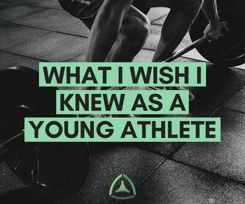 To My Younger Athlete Self: What I Wished I Had Known